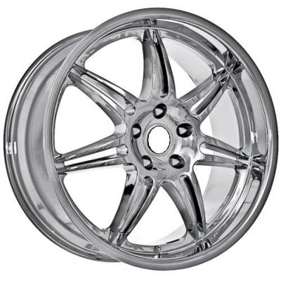Wheels - BMW 4 Wheel Packages - Euro Styles - 860 Chrome Wheels