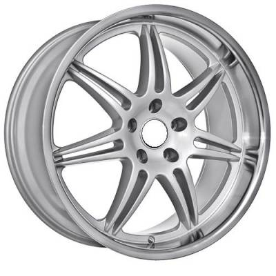 Wheels - BMW 4 Wheel Packages - Euro Styles - 860 Silver Wheels