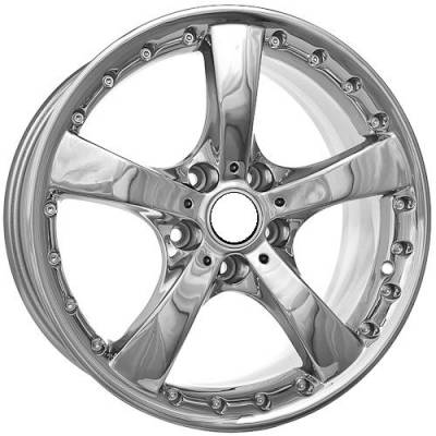Wheels - BMW 4 Wheel Packages - Euro Styles - 705 Chrome Wheels