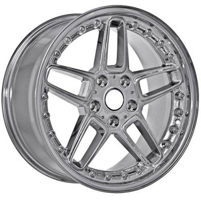 Wheels - BMW 4 Wheel Packages - Euro Styles - 810 Chrome Wheels