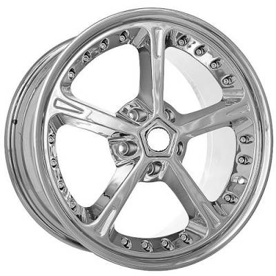 Wheels - BMW 4 Wheel Packages - EuroT - 820 Chrome Wheels