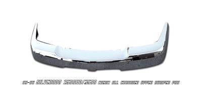 Accessories - Exterior Accessories - OptionRacing - Chevrolet Silverado Option Racing Upper Bumper Pad - 65-15127