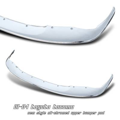 Accessories - Exterior Accessories - OptionRacing - Toyota Tacoma Option Racing Upper Bumper Pad - 65-44218