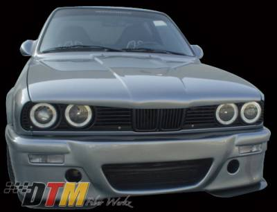 3 Series 4Dr - Body Kit Accessories - DTM Fiberwerkz - BMW 3 Series DTM Fiberwerkz Badboy Eyebrow - E30-BADBOY-E