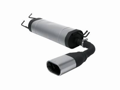 Exhaust - Mufflers - Remus - Toyota Rav 4 Remus Rear Silencer with Exhaust Tip - Square - 906000 0509