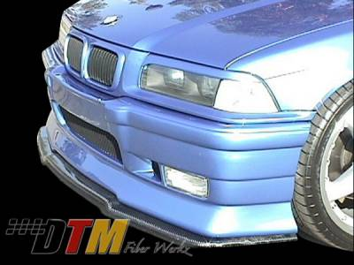 3 Series 2Dr - Body Kit Accessories - DTM Fiberwerkz - BMW 3 Series DTM Fiberwerkz RG Infinity Style Front Splitter - E36-RG-INFIN