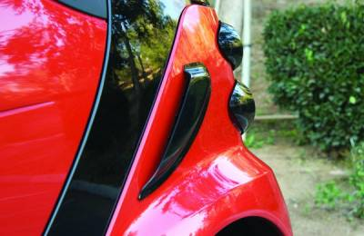 ForTwo - Body Kit Accessories - GT Styling - Smart ForTwo GT Styling Air Scoop - Carbon Fiber - GT4811X