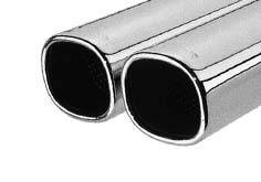 Exhaust - Exhaust Pipes - Remus - Mercedes-Benz ML Remus Mounting Connection Tube with Dual Exhaust Tips - Square - 509102 0602