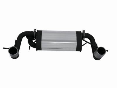 Exhaust - Mufflers - Remus - Toyota MR2 Remus Rear Silencer with Left & Right each Exhaust Tip - Round - 905000 1505
