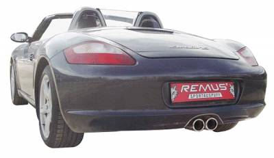 Exhaust - Mufflers - Remus - Porsche Boxster Remus Racing Rear Silencer System - 686006 1705