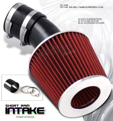 Air Intakes - OEM - OptionRacing - Isuzu Amigo Option Racing Air Intake Pipe