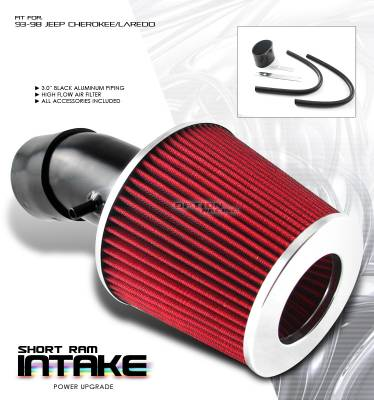 Air Intakes - OEM - OptionRacing - Jeep Cherokee Option Racing Air Intake Pipe