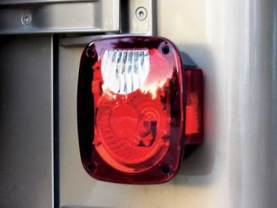 Headlights & Tail Lights - Tail Lights - Rampage - Jeep Wrangler Rampage Taillight Conversion Kit - Diamond Brite - 5307