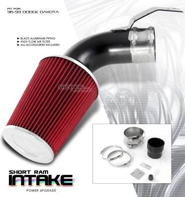 Air Intakes - OEM - OptionRacing - Dodge Dakota Option Racing Air Intake Pipe