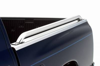 Suv Truck Accessories - Bed Rails - ICI - Ford F-Series ICI Stainless Bed Rail Caps without Holes - BR11