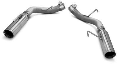 SLP - Ford Mustang SLP Loudmouth Axle-Back Exhaust - 23013