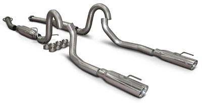 SLP - Ford Mustang SLP Loudmouth II Catback Exhaust - 23024