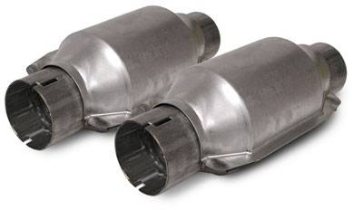 Exhaust - Catalytic Converter - SLP - Ford Mustang SLP High Flow Catalytic Conveter Kit - 23034
