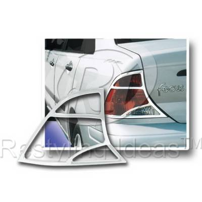 Headlights & Tail Lights - Tail Light Covers - Restyling Ideas - Ford Focus 4DR Restyling Ideas Taillight Bezel - 26804