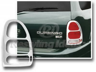 Headlights & Tail Lights - Tail Light Covers - Restyling Ideas - Dodge Caravan Restyling Ideas Taillight Bezel - Chrome - 26811