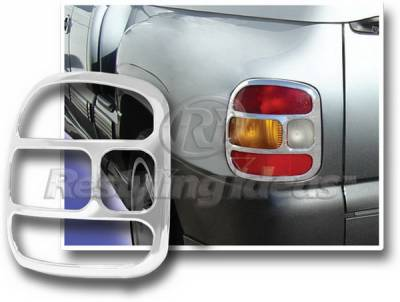 Headlights & Tail Lights - Tail Light Covers - Restyling Ideas - GMC Sierra Restyling Ideas Flare Taillight Bezel - 26817