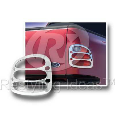Headlights & Tail Lights - Tail Light Covers - Restyling Ideas - Ford F150 Restyling Ideas Taillight Bezel - 26821