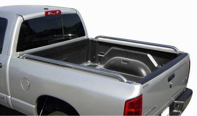 Suv Truck Accessories - Bed Rails - ICI - GMC Sierra ICI Tube Side Rails - DROP72CH