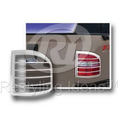 Headlights & Tail Lights - Tail Light Covers - Restyling Ideas - Ford F150 Restyling Ideas Taillight Bezel - 26824