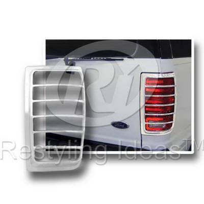 Headlights & Tail Lights - Tail Light Covers - Restyling Ideas - Ford Expedition Restyling Ideas Taillight Bezel - 26826