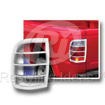 Headlights & Tail Lights - Tail Light Covers - Restyling Ideas - Ford Ranger Restyling Ideas Taillight Bezel - 26828