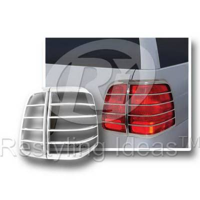 Headlights & Tail Lights - Tail Light Covers - Restyling Ideas - Lincoln Navigator Restyling Ideas Taillight Bezel - 26834