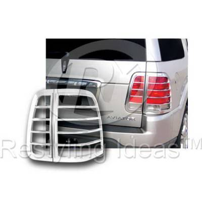 Headlights & Tail Lights - Tail Light Covers - Restyling Ideas - Lincoln Aviator Restyling Ideas Taillight Bezel - 26846