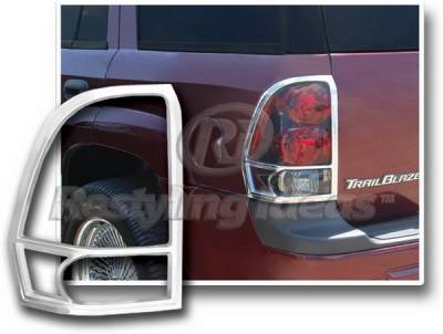Headlights & Tail Lights - Tail Light Covers - Restyling Ideas - Chevrolet Trail Blazer Restyling Ideas Taillight Bezel - Chrome - 26848
