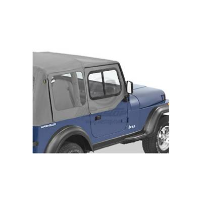Wrangler - Doors - Omix - Bestop Hard Upper Door Sliders - 51785