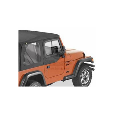 Wrangler - Doors - Omix - Bestop Hard Upper Door Sliders - 51787