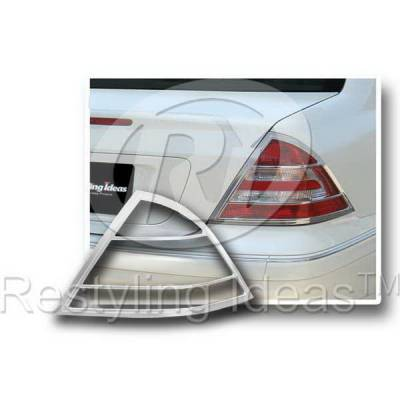 Headlights & Tail Lights - Tail Light Covers - Restyling Ideas - Mercedes C Class Restyling Ideas Taillight Bezel - 26858