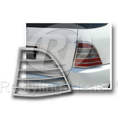Headlights & Tail Lights - Tail Light Covers - Restyling Ideas - Mercedes Restyling Ideas Taillight Bezel - 26859