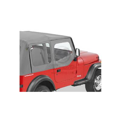 Wrangler - Doors - Omix - Omix Fabric Replacement Door Skin - 53120