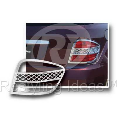 Headlights & Tail Lights - Tail Light Covers - Restyling Ideas - Mercedes ML Restyling Ideas Taillight Bezel - 26860