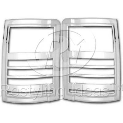 Headlights & Tail Lights - Tail Light Covers - Restyling Ideas - Dodge Grand Caravan Restyling Ideas Taillight Bezel - 26874