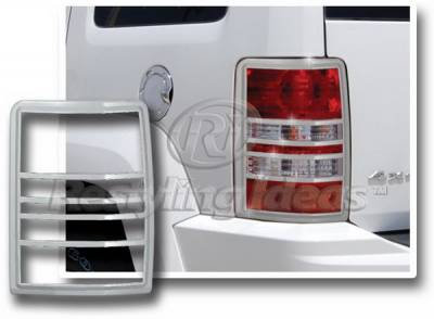 Headlights & Tail Lights - Tail Light Covers - Restyling Ideas - Jeep Liberty Restyling Ideas Taillight Bezel - Chrome - 26876