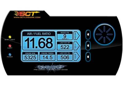 Performance Parts - Performance Accessories - SCT - Ford Mustang SCT LiveWire Tuner with Free Custom Tunes - 38007