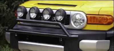 Grilles - Grille Guard - Rampage - Jeep Wrangler Rampage Dakar Bar Mount Kit - 50325