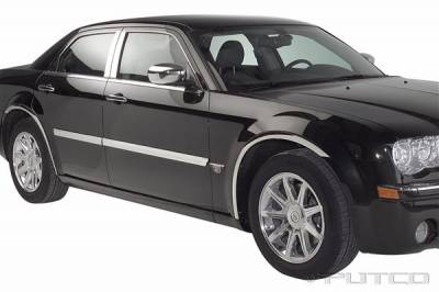 300 - Body Kit Accessories - Putco - Chrysler 300 Putco Body Side Molding - Billet Aluminum - 96666