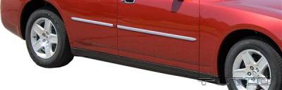 Charger - Body Kit Accessories - Putco - Dodge Charger Putco Body Side Molding - Billet Aluminum - 96667