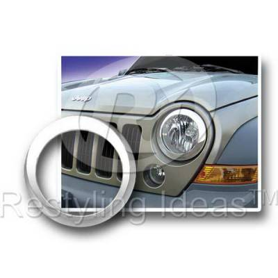 Headlights & Tail Lights - Headlight Covers - Restyling Ideas - Jeep Liberty Restyling Ideas Headlight Bezel - 62801