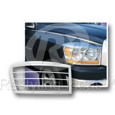 Headlights & Tail Lights - Headlight Covers - Restyling Ideas - Dodge Ram Restyling Ideas Headlight Bezel - 62803