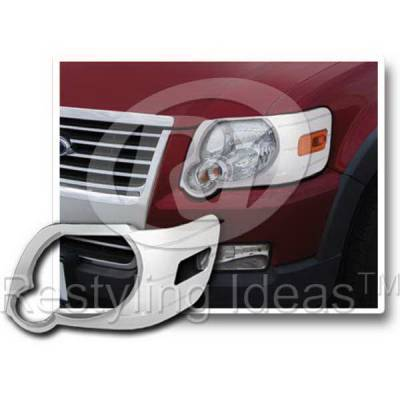 Headlights & Tail Lights - Headlight Covers - Restyling Ideas - Ford Explorer Restyling Ideas Headlight Bezel - 62809