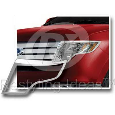 Headlights & Tail Lights - Headlight Covers - Restyling Ideas - Ford Edge Restyling Ideas Headlight Bezel - 62810