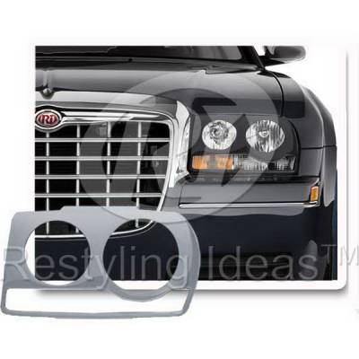 Headlights & Tail Lights - Headlight Covers - Restyling Ideas - Chrysler 300 Restyling Ideas Headlight Cover - 62811